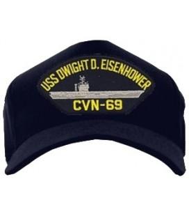 GORRA USS DWIGHT D EISNHWR...
