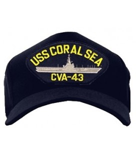 GORRA USS CORAL SEA CVA-43