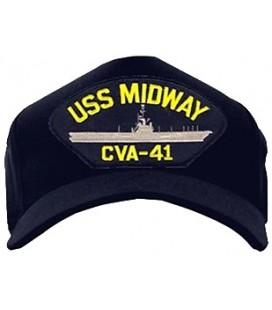 GORRA USS MIDWAY CVA-41