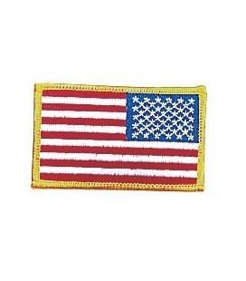 BANDERA USA INVERTIDA PATCH