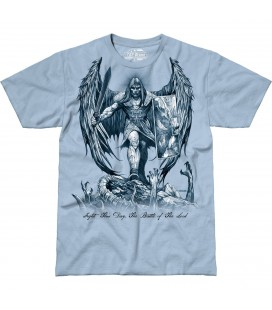"CAMISETA 7,62 ""FIGHT THIS DAY"" AZUL"