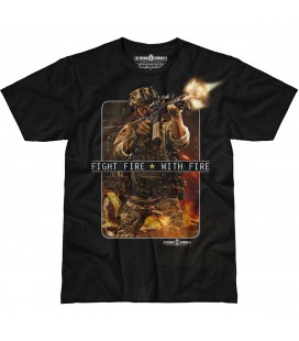 "CAMISETA 7,62 ""FIGHT FIRE WITH FIRE"""