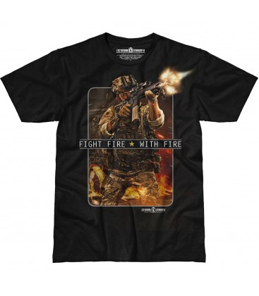 "CAMISETA 7,62 ""FIGHT FIRE WITH FIRE"" M"