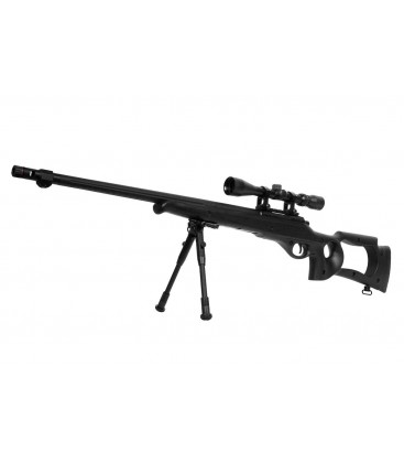 WELL MB10D CON OPTICA Y BIPODE AIRSOFT