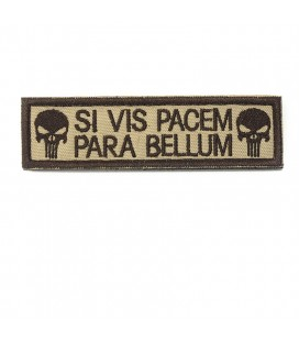 PARCHE SI VIS PACEM PARA BELLUM TAN G-003-019-11