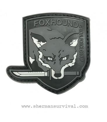 PARCHE PVC FOXHOUND GRIS G002-027-GREY