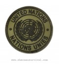PARCHE PVC UNITED NATIONS TAN G002-037-TAN