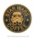 PARCHE PVC STAR WARS COFFEE YELLOW G002-043-YELLOW