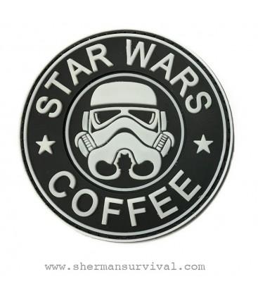 PARCHE PVC STAR WARS COFFEE BLANCO G-002-043-WHITE