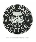 PARCHE PVC STAR WARS COFFEE BLANCO G002-043-WHITE