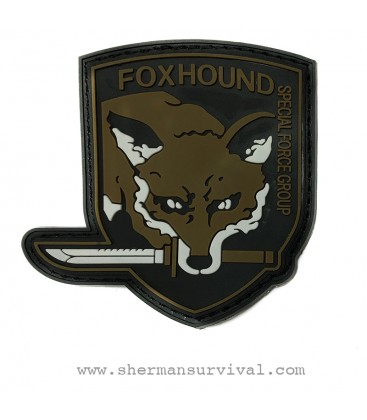 PARCHE PVC FOXHOUND G002-027-TAN