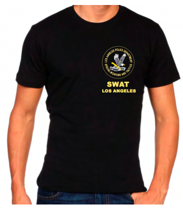 CAMISETA SWAT LOS ANGELES