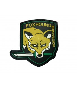 PARCHE PVC FOXHOUND GREEN G002-027-GREEN