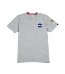 CAMISETA ALPHA SPACE SHUTTLE GRIS