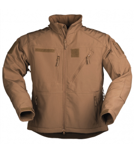 CHAQUETA SOFTSHELL SCU DARK COYOTE