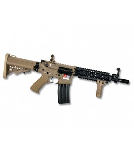 FUSIL G&P SENTRY TROY TAN AIRSOFT