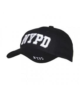 GORRA FOSTEX NEGRA NYPD
