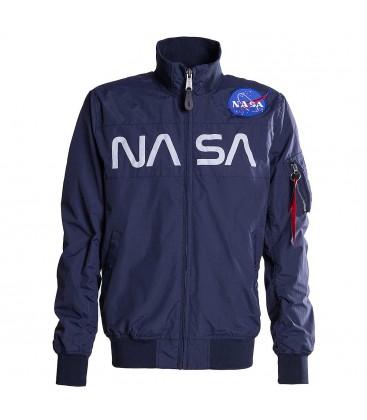 CAZADORA ALPHA IND. NASA JACKET AZUL