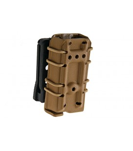 PORTACARGADOR PISTOLA GK TACTICAL KYDEX SINGLE TAN
