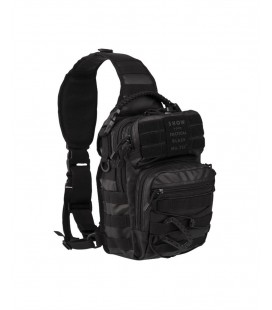 MOCHILA 1 CORREA SM TACTICAL NEGRA SMALL