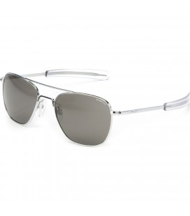 GAFAS RANDOLPH SUN AVIATOR 55 CHROME