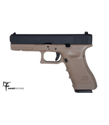 SAIGO GLOCK 17 TAN CO2 AIRSOFT