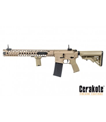 FUSIL EVOLUTION LA M4 CARBINE DARK EARTH LONE STAR EDITION