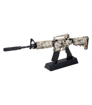 REPLICA A ESCALA M4 CAMO GHOST
