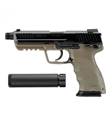 PISTOLA MARUI HK45 TACTICAL GBB AIRSOFT