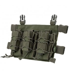 VIPER VX BUCKLE UP PORTACARG TRIPLE VERDE