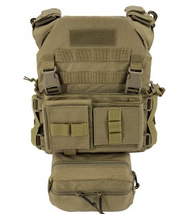 CHALECO CONQUER MPC SET TAN