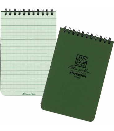 LIBRETA IMPERMEABLE RITE THE RAIN 10x15 VERDE