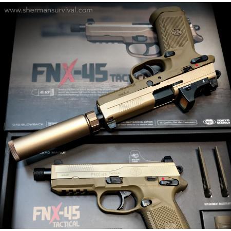 PISTOLA MARUI FNX-45 GBB AIRSOFT