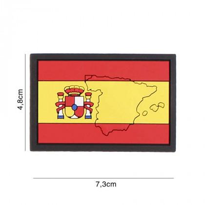 PARCHE 3D PVC ESPAÑA CONTORNO