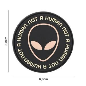 PARCHE PVC NOT HUMAN...