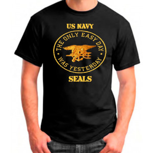 CAMISETA NAVY SEALS EMBLEMA