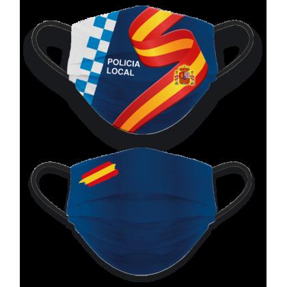 MASCARILLA REVERSIBLE POLICIA LOCAL