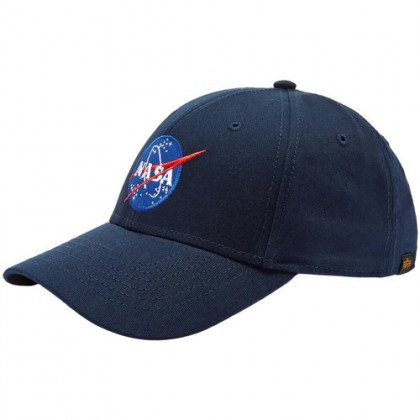 GORRA ALPHA IND. NASA AZUL