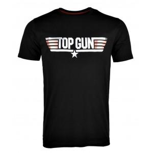 CAMISETA TOP GUN NEGRA