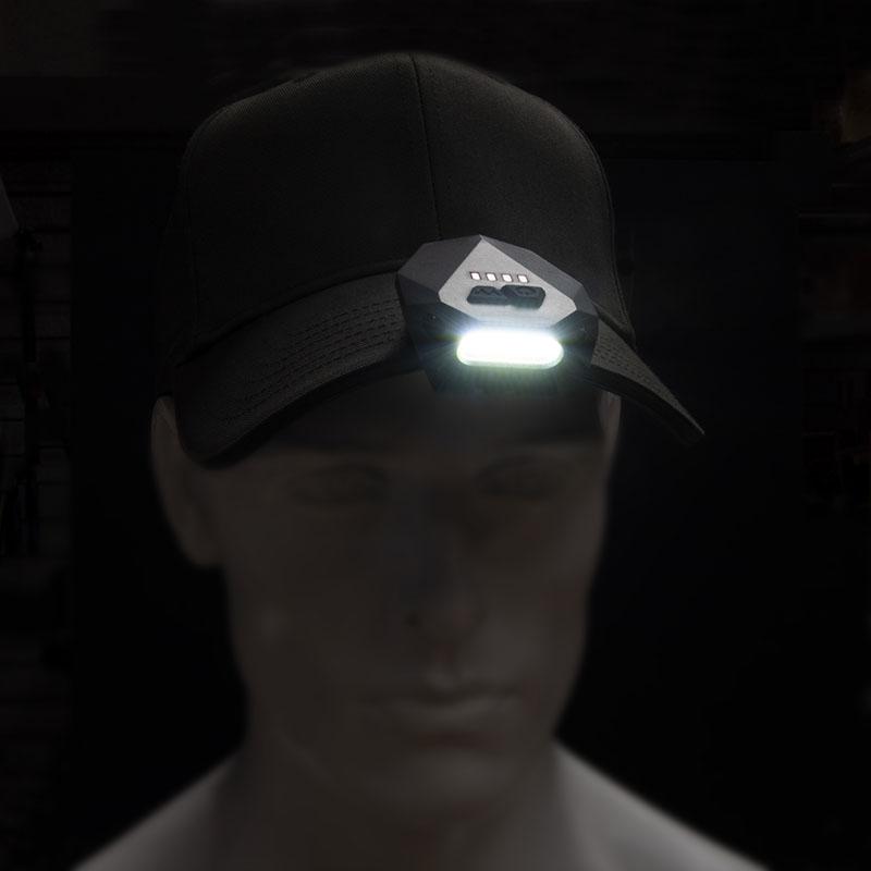 Linterna para gorra Nebo Einstein Cap