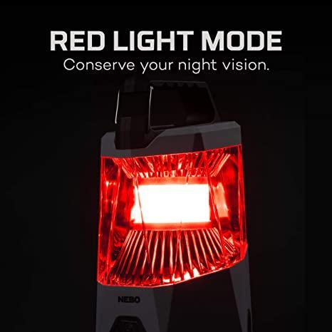Linterna Nebo Galileo 500 rojo