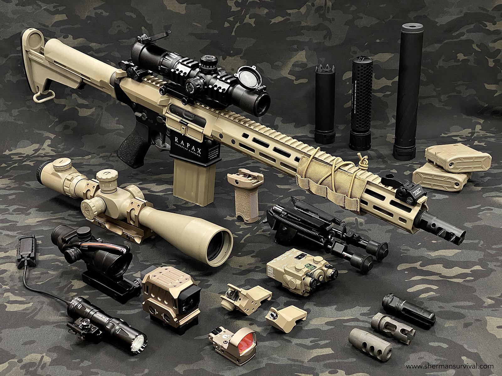 DMR RAPAX XXI M.5 SECUTOR ARMS AIRSOFT