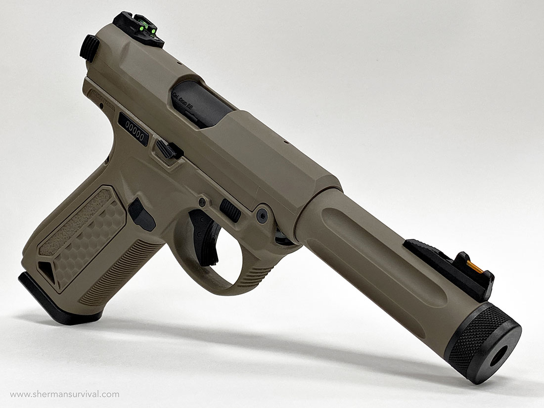 ACTION ARMY AAP-01 ASSASSIN TAN AIRSOFT