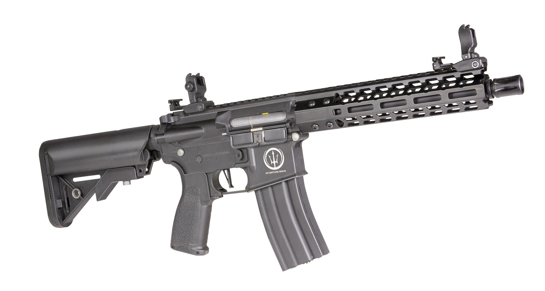"""Fusil eléctrico airsoft AEG ROSSI NEPTUNE 9"""" PMC"""